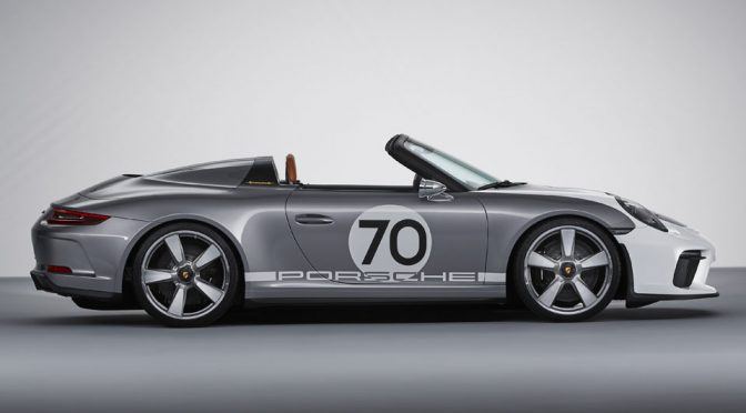 Porsche Brings Back The Spirit Of 356 With 911 Speedster Concept