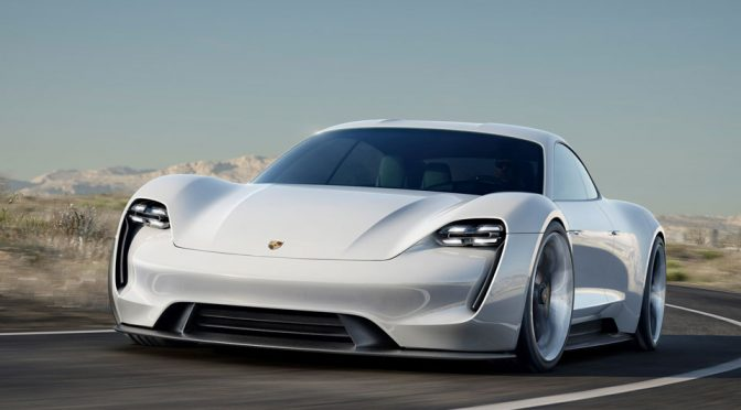 "Porsche Fully Electric Sports Car Mission E Is Now Known As ""Taycan"""