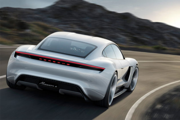 Porsche Taycan Electric Sports Car