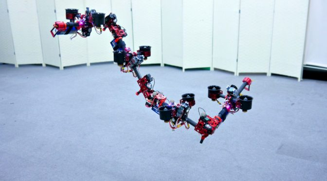 Robotic Flying Snake JSK Lab