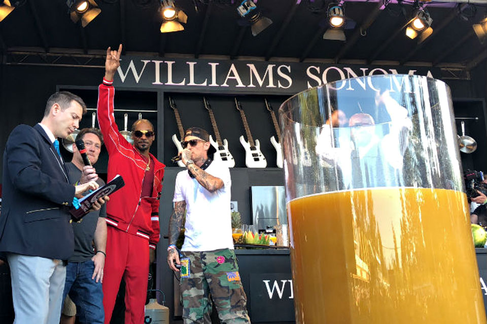 Snoop Dogg World's Largest Paradise Cocktail