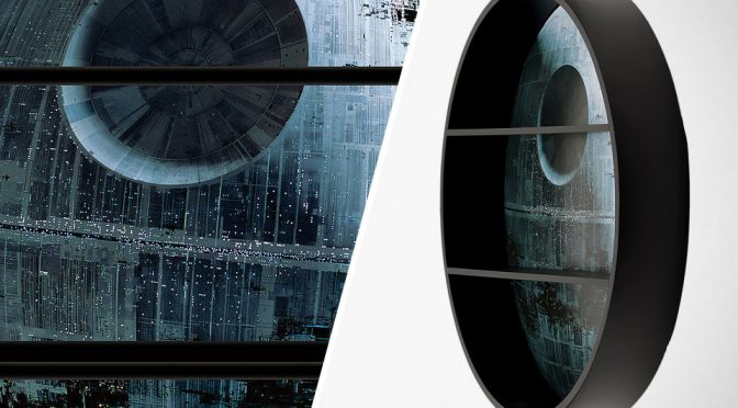 Star Wars Death Star Shelving Unit
