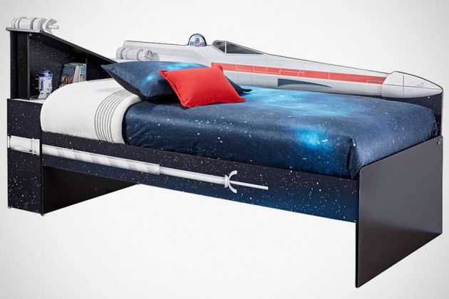 Star Wars X-Wing Bookcase Bed
