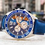 TAG Heuer Celebrates 24 Of Le Mans With Formula 1 Gulf Wrist Watch