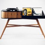 This Made-For-Turntable Table Is High On Mid-century Vibe!