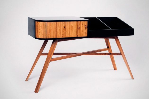 The Vinyl Table Turntable And Vinyl Storage Table by HRDL