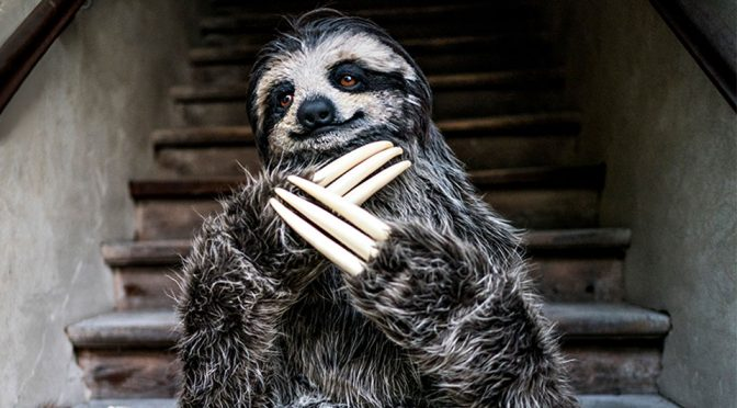 Artist Created A Sloth Costume That Is Life-like, I Thought It Was A Giant Sloth