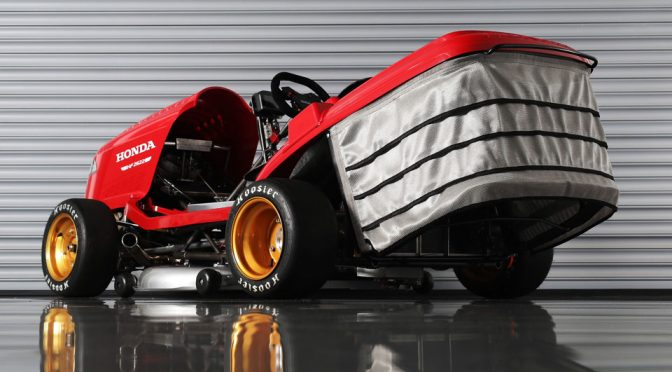 This Is Honda UK's Contender For An Even Faster Lawn Mower…