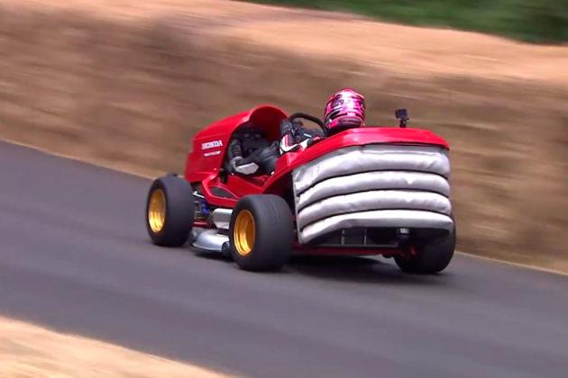 2018 Honda Mean Mower V2 at Goodwood