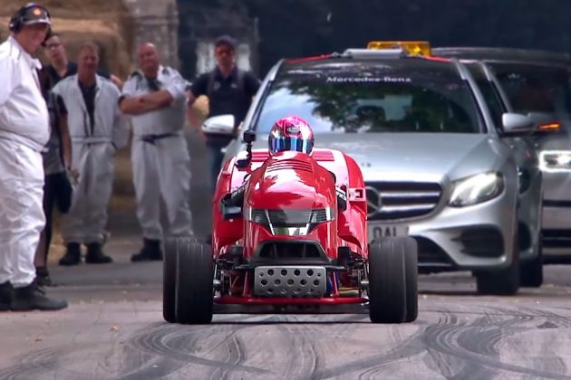 2018 Honda Mean Mower V2 at Goodwood