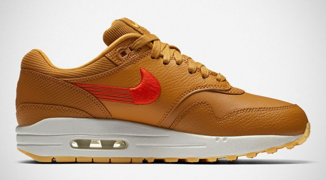 Nike Gives Its Iconic Swoosh Logo A New Look On Air Max 1