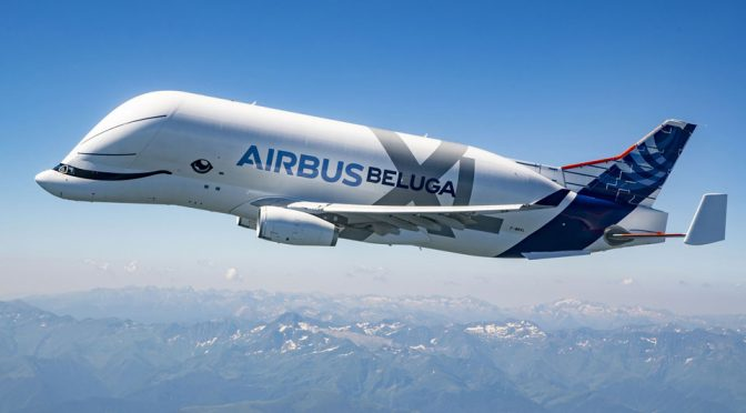 Airbus BelugaXL Super Transporter Completes Maiden Flight With A Smile