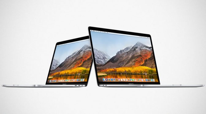 Apple Mid 2018 13 and 15-inch MacBook Pro