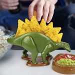 NACHOsaurus Is A Fitting Nachos Holder Because, Stegosaurus