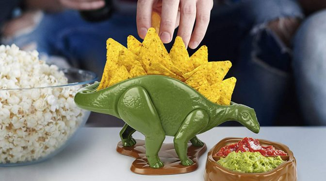 NACHOsaurus Is A Fitting Nachos Holder Because, Stegosaurus