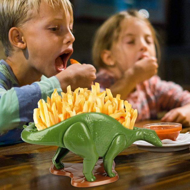 Barbuzzo NACHOsaurus Dip and Snack Dish Set