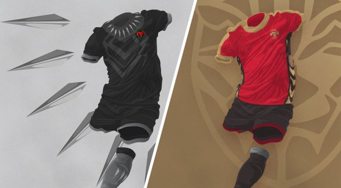 Designer Imagines Wakanda's World Cup Soccer Team Jerseys