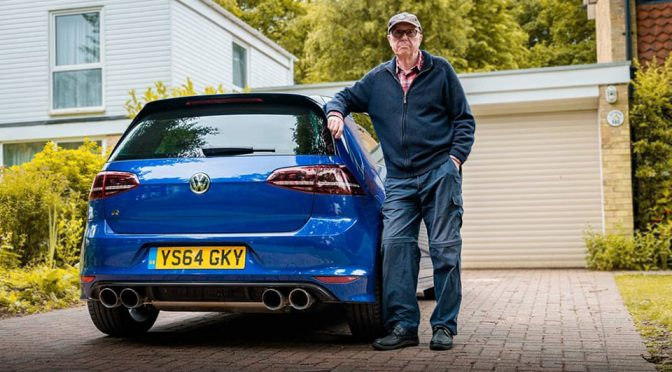 British Gramp Drives 600HP VW Golf R