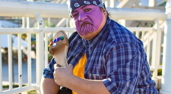 Cholo Thanos and Infinity Chancia Cosplay