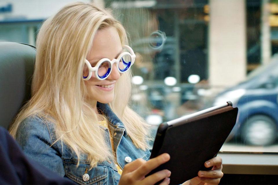 Citroen Seetroën Anti-Motion Sickness Glasses