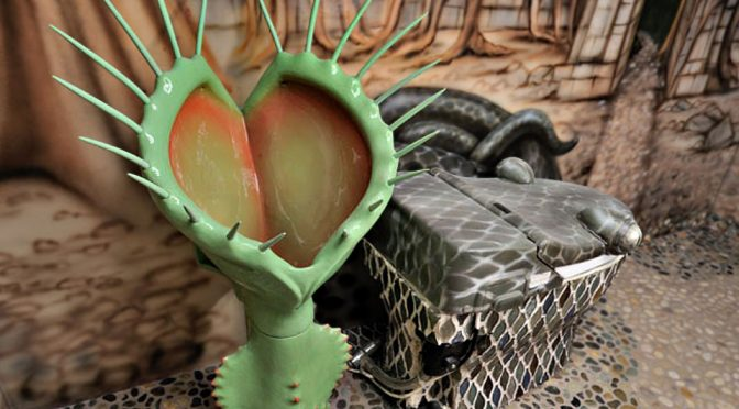 Someone Actually Had A Custom Urinal In The Form Of A Venus Fly Trap