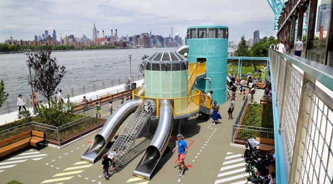 Domino Park Playground by Mark Reigelman