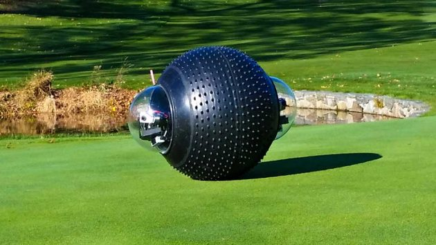 Guardbot Rolling Surveillance Robot