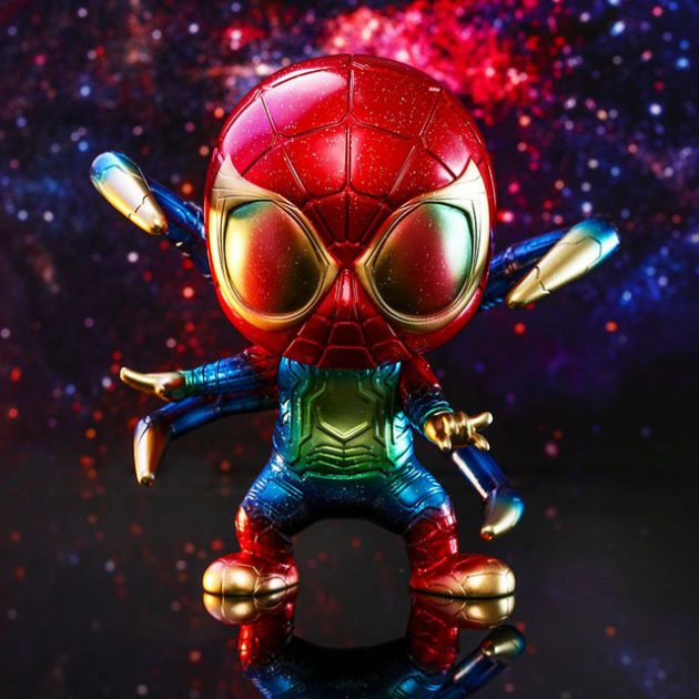 Hot Toys Avengers-Infinity-War Iron Spider (Galaxy Color Version)