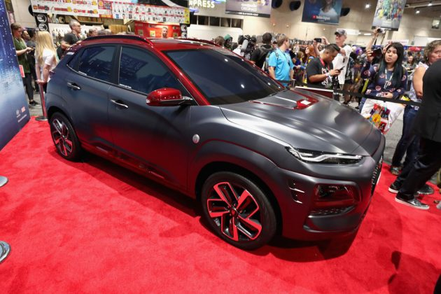 Hyundai Kona Iron Man Edition SUV