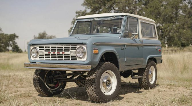 ICON4x4's New Ford Bronco Is A True Old School Delight