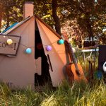Cardboard Camping Tent Solves The Problem Of Plastic Tents At Festivals