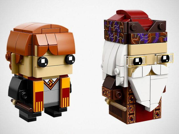 LEGO 41621 Ron Weasley and Albus Dumbledore Brickheadz