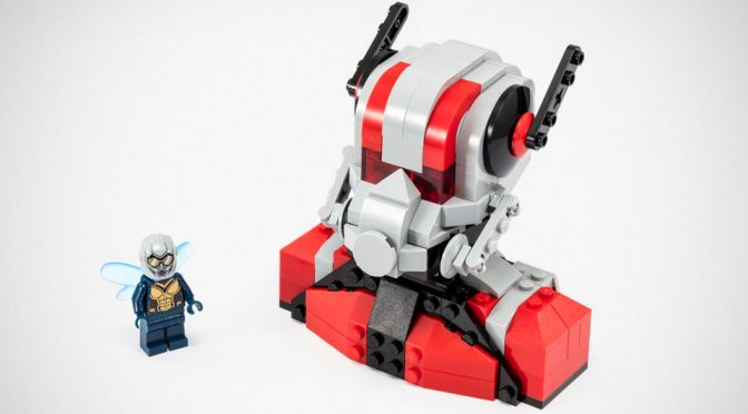 LEGO <em>Ant-Man And The Wasp</em> SDCC Set Features Giant Ant-Man Bust