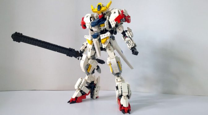 I Would Love To Build Me Self A LEGO <em>Gundam</em> Barbatos Lupus!