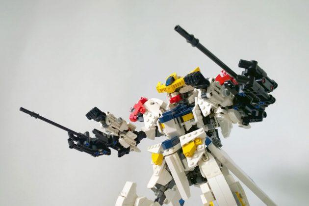 LEGO Gundam Barbatos Lupus by demon1408