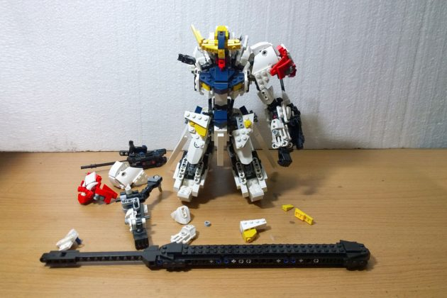 LEGO Gundam Barbatos Lupus by demon1408