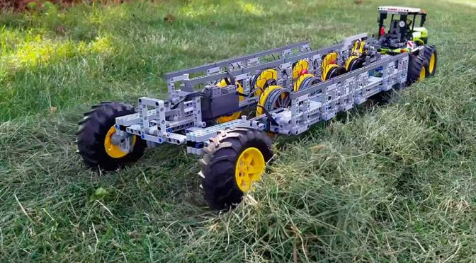 LEGO Hay Rake by The Brick Wall