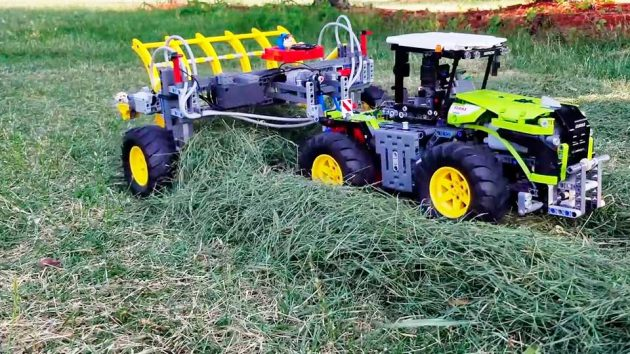 LEGO Technic Hay Rake by The Brick Wall