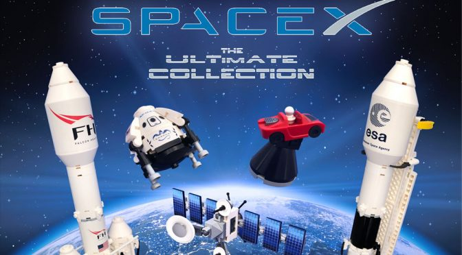 LEGO Ideas SpaceX Set Got 10K Support, Features Musk's Tesla Roadster