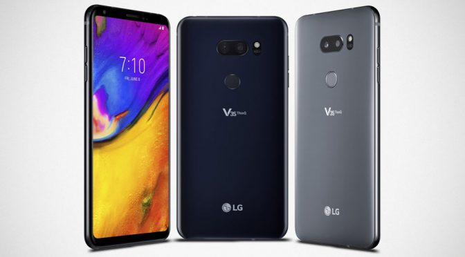 LG V35 ThinQ Proves That Edge-to-Edge Display Is Still Great Without Notch