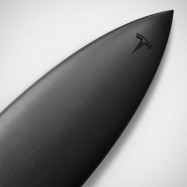 Limited Edition Tesla Surfboard