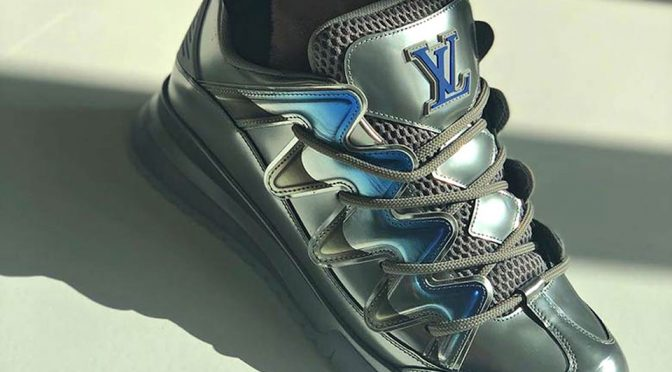 "Louis Vuitton's New ""Zig Zag"" Skate Shoes Are Really Super Chunky!"