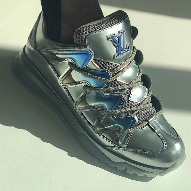 "Louis Vuitton Chunky ""Zig Zag"" Skate Shoes"