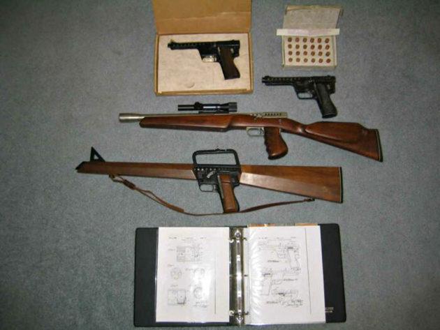 MB Associates GYROJET Rocket Guns