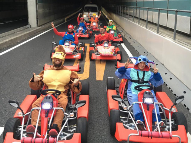 Mario Kart-style Tours in Japan