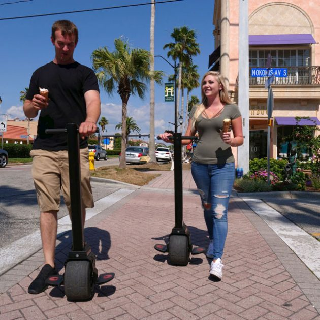 Mini Electric Unicycle by Uno Bolt with Gyro Force V2