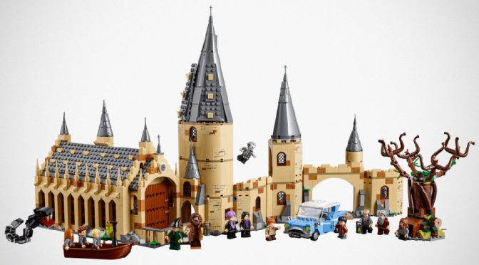 New LEGO Harry Potter Play Sets