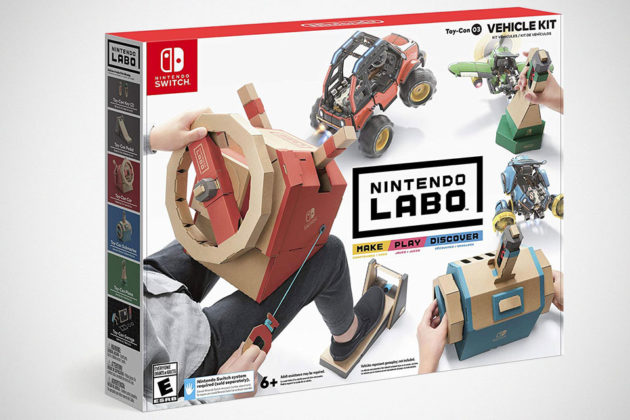 Nintendo Switch Labo Vehicle Kit