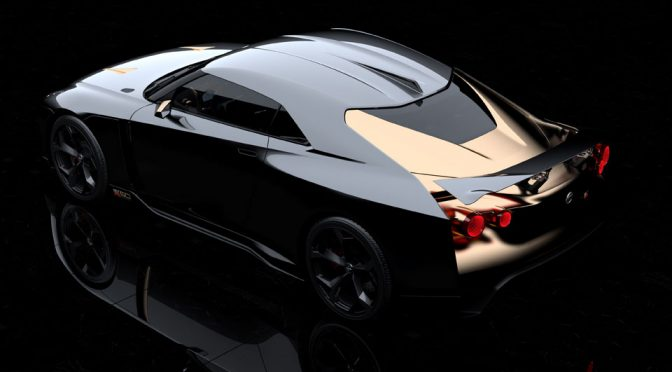 Nissan And Italdesign Created A Celebratory Nissan GT-R Called GT-R50