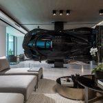 Argentine Race Car Driver Has A Pagani Zonda R Supercar As A Room Divider